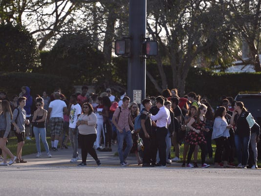 Shooting reported at Marjory Stoneman Douglas High School in