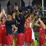 Dominant U.S. women's basketball team ready after pool play