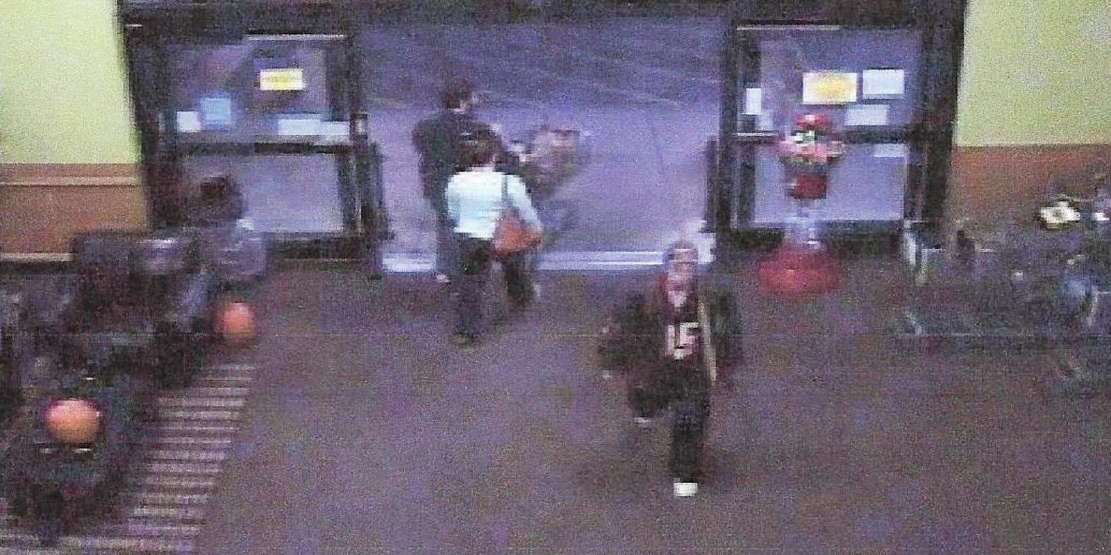 Man robbed at gunpoint in Kroger restroom