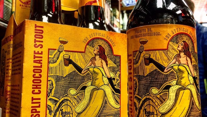 Share some Thomas Creek Banana Split Chocolate Stout with someone special on  Valentine's Day.