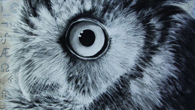 """Karen Bondarchuk of Michigan, known in part for her charcoal drawings of crows, in autumn is the 2016 """"Birds in Art"""" master artist at Leigh Yawkey Woodson Art Museum, Wausau."""