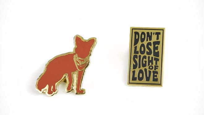 The Ace Hotel & Swim Club in Palm Springs is offering two custom-designed lapel pins, which support a local charity.
