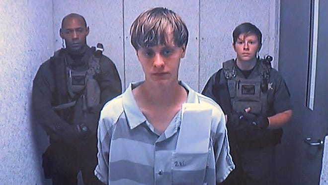 Dylann Roof is charged with murder in the deaths of nine members of a Charleston church, one of 11 mass shootings in South Carolina this year.