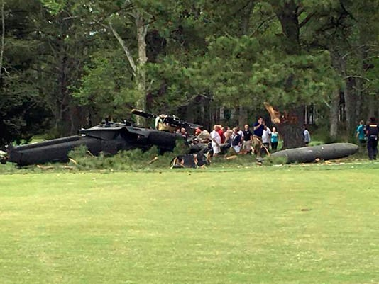 AP US HELICOPTER CRASH A USA MD