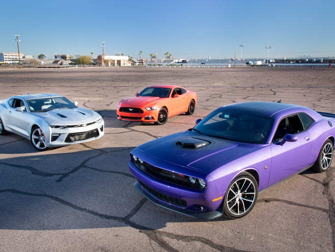 Muscle Cars Look Cool But Might Not Offer Best Crash Protection - Cool muscle cars