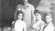 Archduke Franz Ferdinand and his wife Sophie with their children
