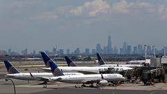 This file photo from July 22, 2014, shows United Airlines