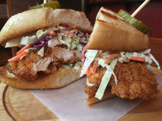 The Eagle sets the new standard for chicken sandwiches