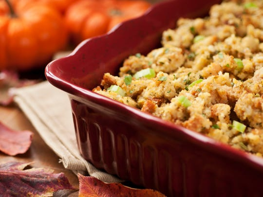 Stuffing and other Thanksgiving leftovers should be