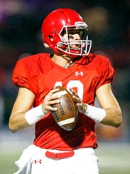 Brentwood Academy quarterback Gavin Schoenwald is one of two Vanderbilt commitments on this year's team.
