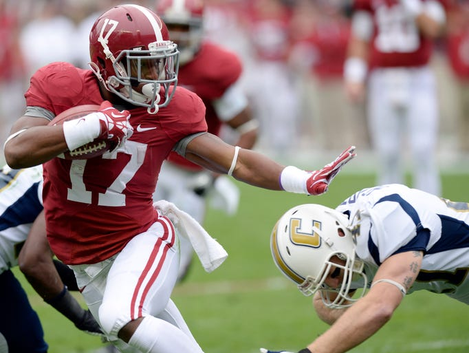 No. 1 Alabama 49, Chattanooga 0
