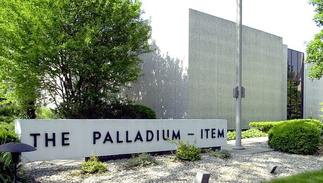 The Palladium-Item's business office at 1175 N. A St.