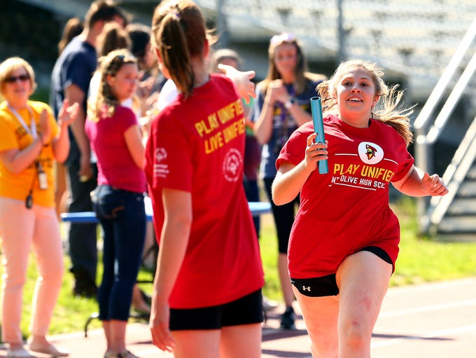 NJAC Unified track and field meet at Jefferson Township
