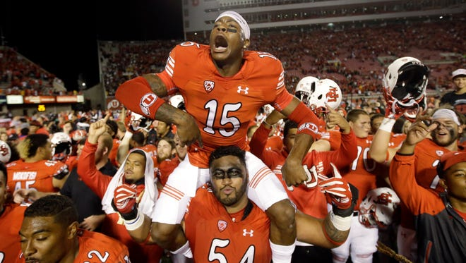 Unbeaten Utah, which leads the Playoff Projection, has had much to celebrate so far this season.