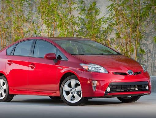 2012, 2013, 2014, 2015 Toyota Prius.