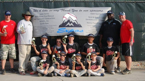 The Mountain Expos 10 and under team is based out of Hendersonville.