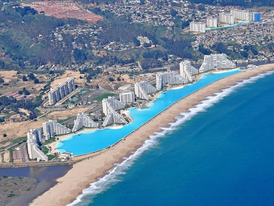 check out the world 39 s largest swimming pool