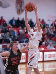 Bucyrus' Jaylen Zehner is one of the best in the area dishing out assists.