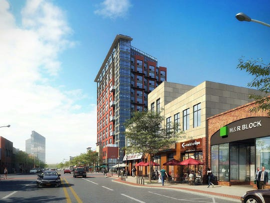 The Broadstone White Plains proposal would include