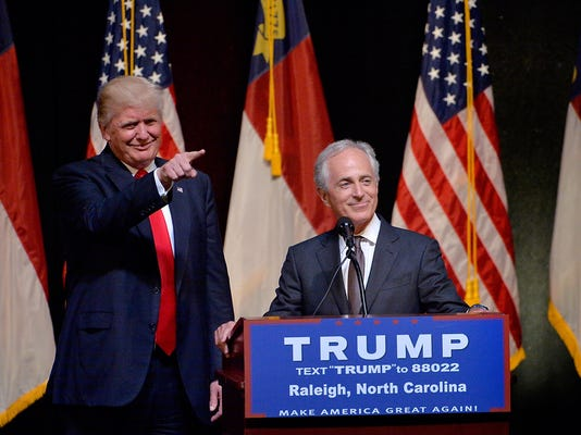 Donald Trump Campaigns In Raleigh, North Carolina