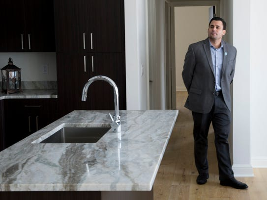Real estate developer Michael Ferlito poses for a portrait