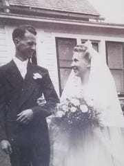 On Aug. 15, 1943, Arleen and Forrest,Meyer were wed inside a Lutheran church in Camp Douglas, Wisconsin.