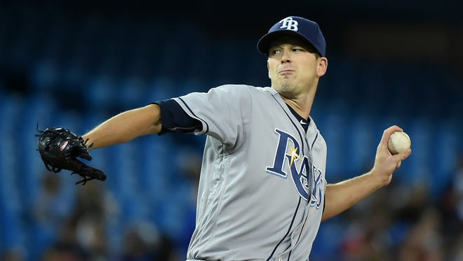 Drew Smyly made 30 starts last season for Tampa Bay, throwing a career-high 175 1/3 innings.