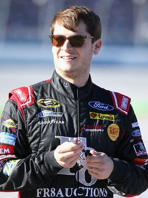 Landon Cassill is wrapping up his first season with Front Row Motorsports.