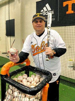 Tennessee baseball coach Dave Serrano