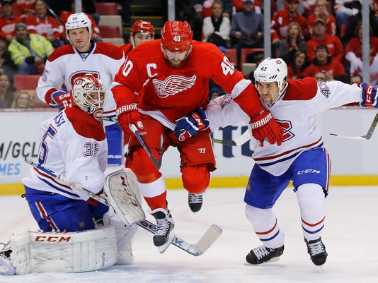 Canadiens Red Wings Hockey