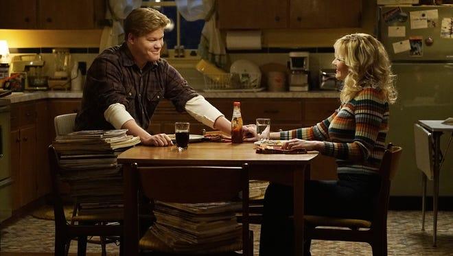 """Jesse Plemons is Ed Blumquist and Kirsten Dunst plays Peggy Blumquist in FX's """"Fargo."""""""