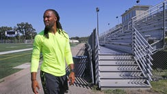 Larry Fitzgerald may play for the Arizona Cardinals,