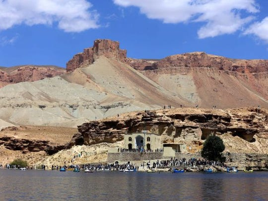 The Bamiyan Valley.