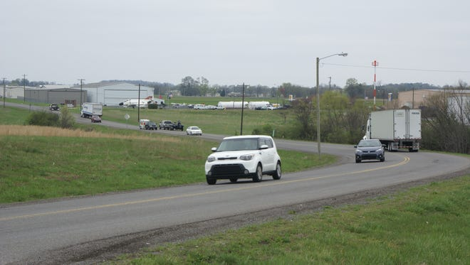 A $5.3 million Airport Road widening and relocation project is expected to be completed by Oct. 31, 2017.