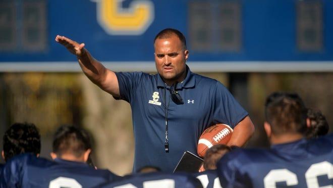 Nick Garrett was the head football coach at Santa Clara High for just one season.