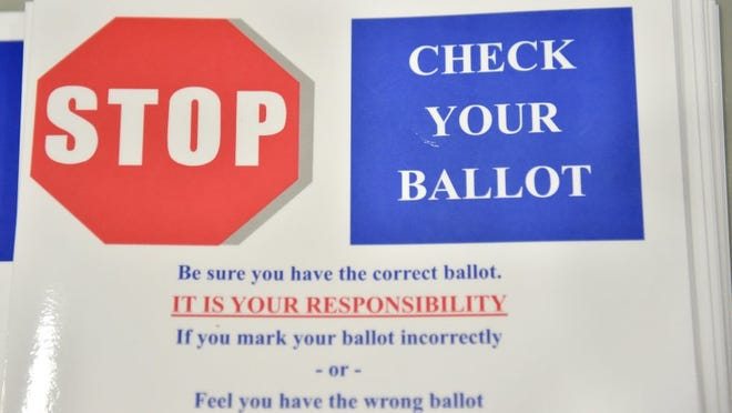 Voters need to present a signed photo ID to cast a ballot in any Florida election.