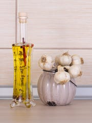 Infuse garlic in a variety of oils for an extra punch of flavor.