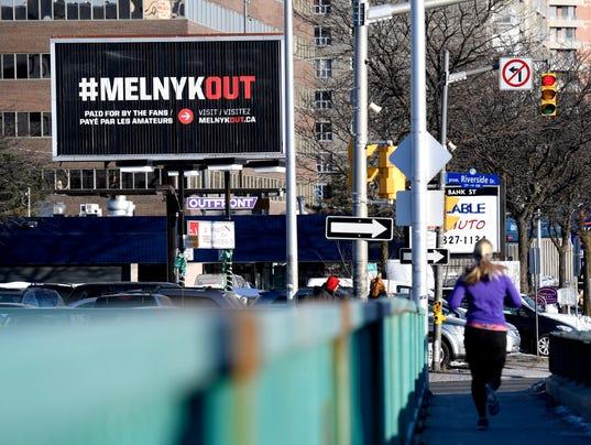 Ottawa billboard Eugene Melnyk