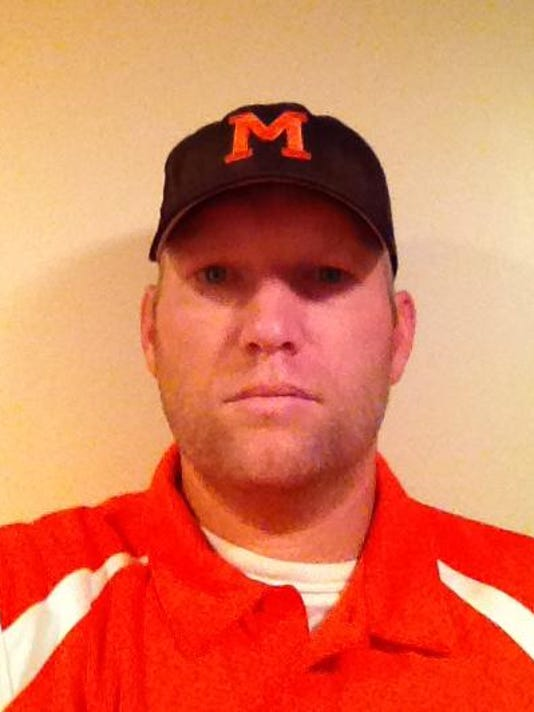 Kendall Crockett, Morrice football coach, fall 2014