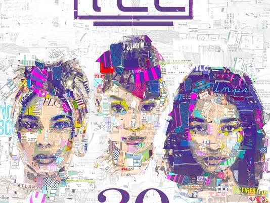 TLC's '20' album cover
