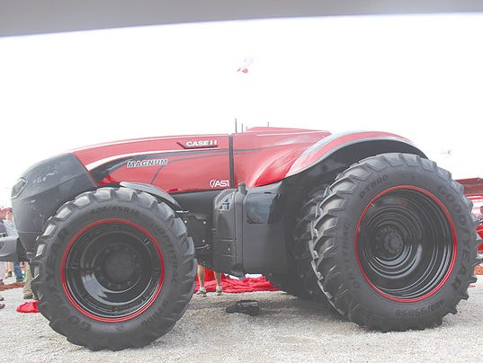 NH autonomous tractor