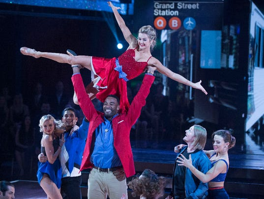 CALVIN JOHNSON JR., LINDSAY ARNOLD