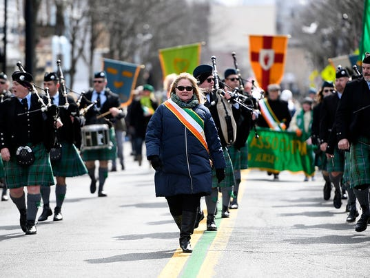 St. Paddy's day parade