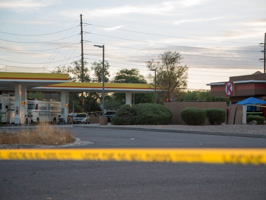 Phoenix police shoot, kill man on bicycle who shot at them