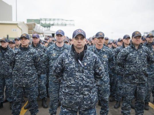 USS Dallas Decommissioning