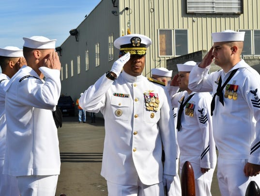 Naval Base Kitsap holds Change of Command