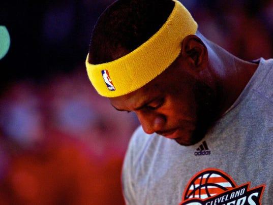 USP NBA: CLEVELAND CAVALIERS AT PORTLAND TRAIL BLA S BKN USA OR