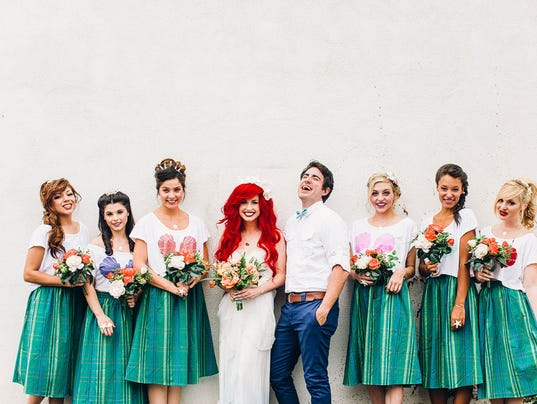 Little Mermaid Wedding Could Be Part Of Your World
