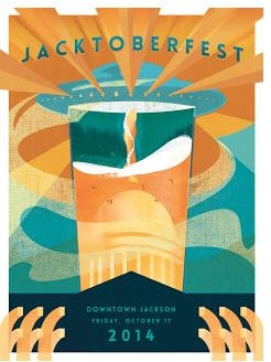 Jacktoberfest is Friday, October 17 in Downtown Jackson.