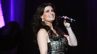 FILE - This June 16, 2014 file photo shows Idina Menzel performing at Radio City Music Hall in New York.